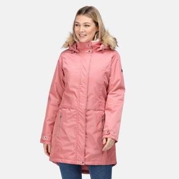 Women's Lexis Waterproof Insulated Parka Jacket Dusty Rose