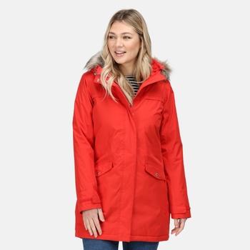Women's Serleena II Waterproof Insulated Parka Jacket Molten