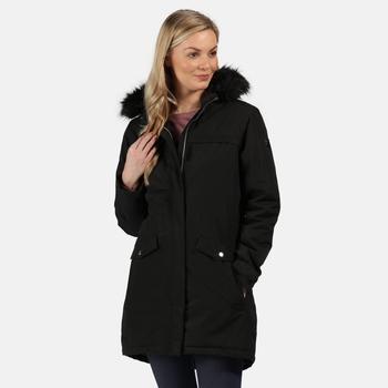 Women's Serleena II Waterproof Insulated Parka Jacket Black