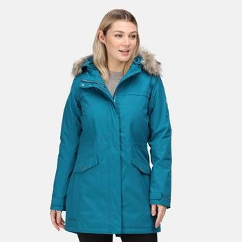 Women's Serleena II Waterproof Insulated Parka Jacket Gulfstream