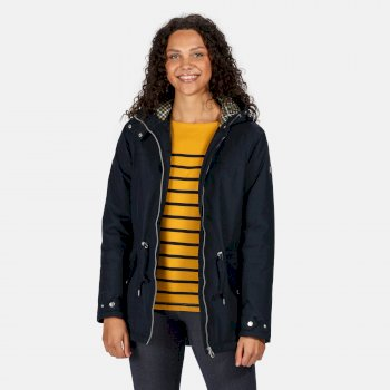 Women's Brigid Waterproof Insulated Hooded Jacket Navy