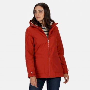 Women's Bergonia II Waterproof Insulated Jacket Burnt Tikka