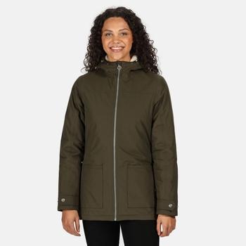 Women's Bergonia II Waterproof Insulated Jacket Dark Khaki