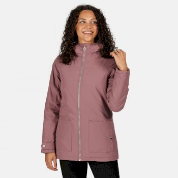 Women's Bergonia II Waterproof Insulated Hooded Jacket Dusky Heather