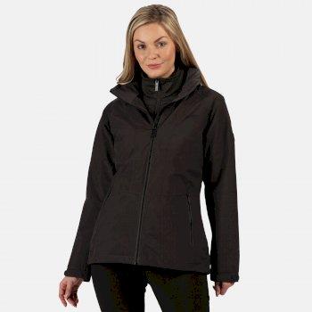 Women's Shrigley 3 In 1 Waterproof Insulated Hooded Walking Jacket Ash