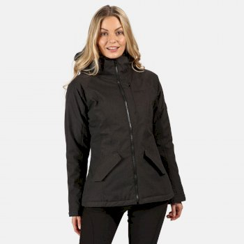 Women's Highside V Waterproof Insulated Hooded Walking Jacket Ash