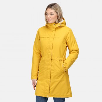Women's Remina Waterproof Insulated Parka Jacket Mustard Seed