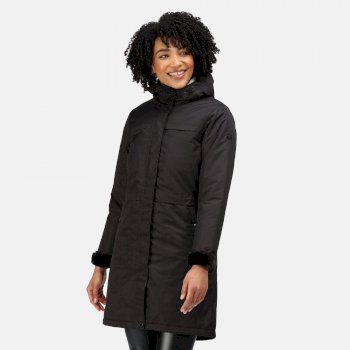 Women's Remina Waterproof Insulated Parka Jacket Black