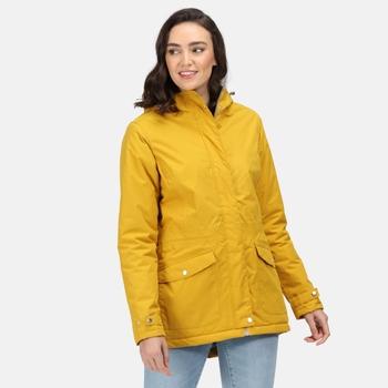 Women's Brigida Waterproof Insulated Jacket Mustard Seed