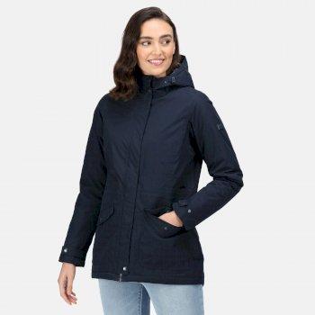 Women's Brigida Waterproof Insulated Jacket Navy