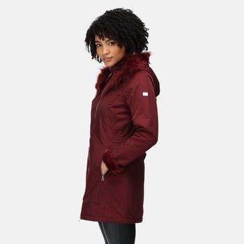 Women's Myrcella Waterproof Insulated Jacket Claret