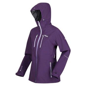 Women's Carletta VI 3-In-1 Waterproof Jacket Dark Aubergine