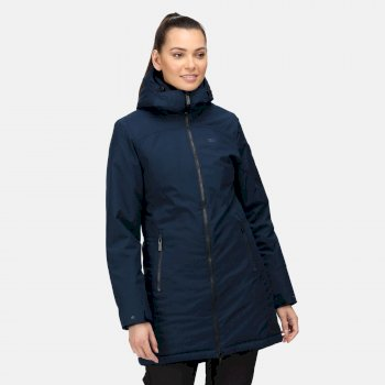 Women's Voltera III Waterproof Heated Jacket Navy