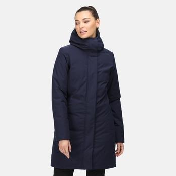 Women's Yewbank Waterproof Insulated Parka Jacket Navy