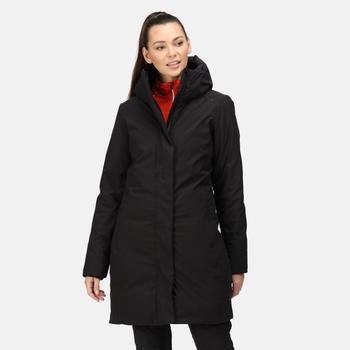 Women's Yewbank Waterproof Insulated Parka Jacket Black