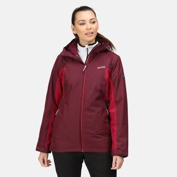 Women's Voltera Protect II Waterproof Heated Jacket Fig Beetroot