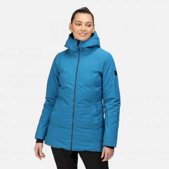 Women's Sanda Waterproof Insulated Jacket Blue Sapphire