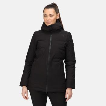 Women's Sanda Waterproof Insulated Jacket Black