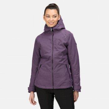 Damska kurtka przeciwdeszczowa Highside VI fioletowa