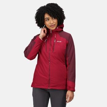 Women's Highton Stretch Padded II Waterproof Jacket Beetroot Fig