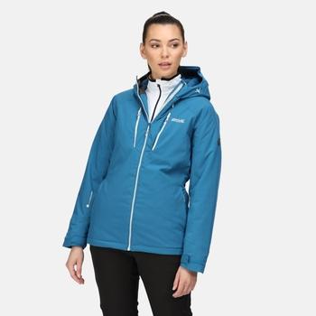 Women's Highton Stretch Padded II Waterproof Jacket Blue Sapphire