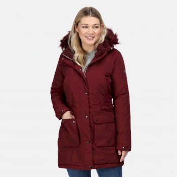 Women's Voltera Waterproof Heated Jacket Claret