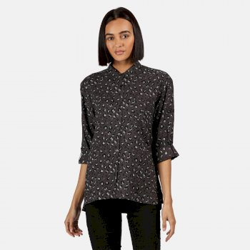 Women's Meera Long Sleeved Shirt Black