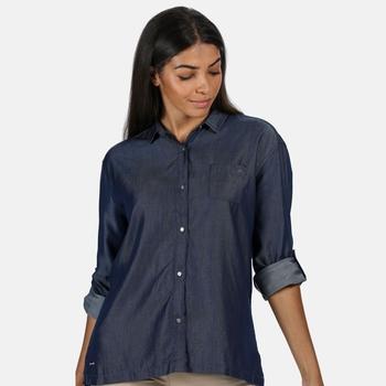 Women's Meera Long Sleeved Shirt Chambray