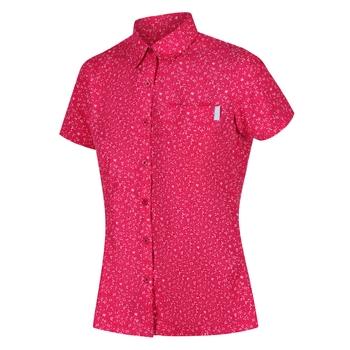Women's Mindano V Short Sleeved Shirt Duchess Petal