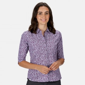 Damska koszula Nimis III liliowa