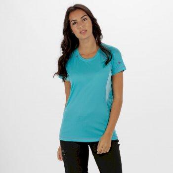 Women's Volito ll Ultra Lightweight T-Shirt Aqua Horizon