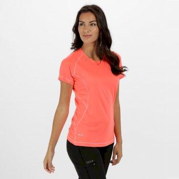 Women's Volito II Ultra Lightweight T-Shirt Fiery Coral