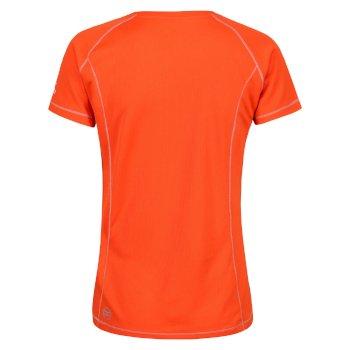 Women's Virda T-Shirt Pumpkin
