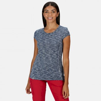 Women's Hyperdimension Quick Dry T-Shirt Dark Denim