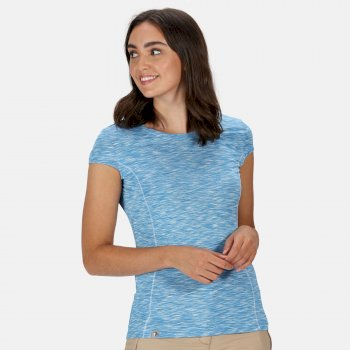 Women's Hyperdimension Quick Dry T-Shirt Blue Aster