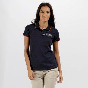 Fawna Quick Dry Polo Shirt Navy