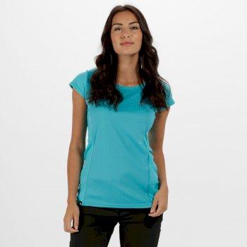 Women's Hyper-Reflect T-Shirt Aqua
