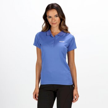 Women's Maverick IV Pique Polo Shirt Blueberry Pie