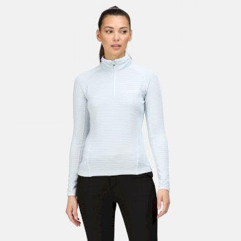 Women's Yonder Half Zip Top Ice Blue