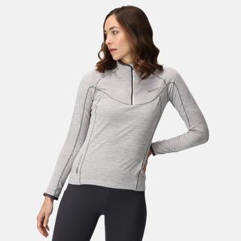 Women's Yonder Half Zip Top White