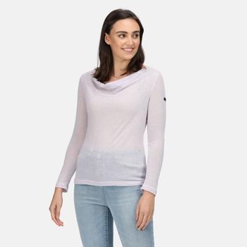 Damska bluzka Frayda liliowa