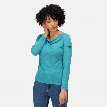 Damska bluzka Frayda niebieska
