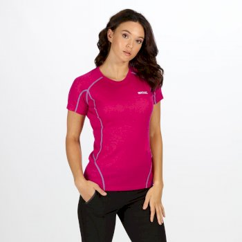 Women's Tornell Super Soft T-Shirt Dark Cerise