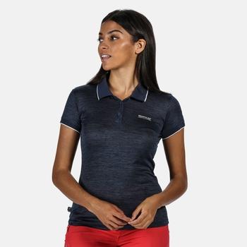Women's Remex II Active Polo Shirt Dark Denim