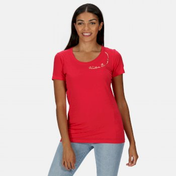 Women's Filandra IV Graphic T-Shirt Virtual Pink