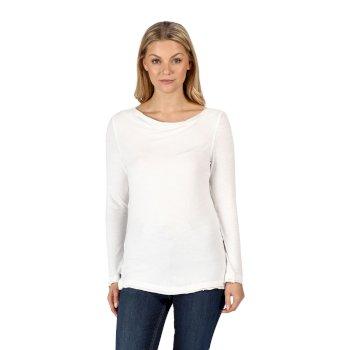 Women's Frayler Long Sleeved T-Shirt White