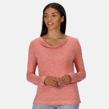 Women's Frayler Long Sleeved T-Shirt Chalk Blush