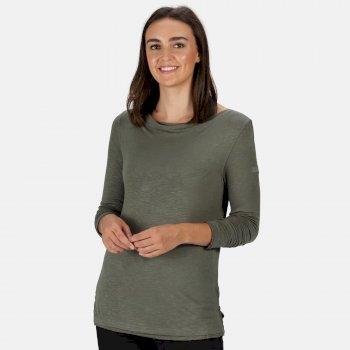 Women's Frayler Long Sleeved T-Shirt Thyme Leaf
