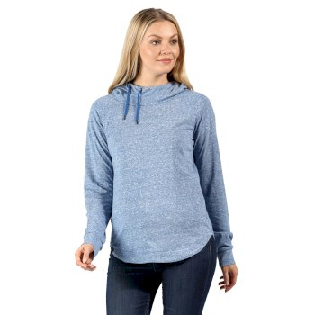 Women's Merindah Lightweight Overhead Hoodie Strong Blue