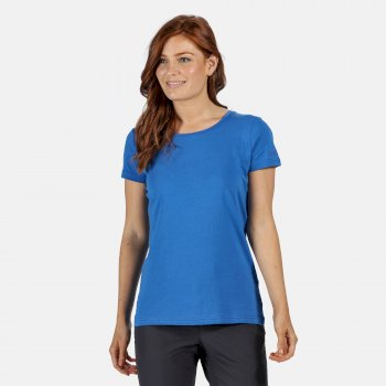 Women's Carlie Coolweave T-Shirt Strong Blue
